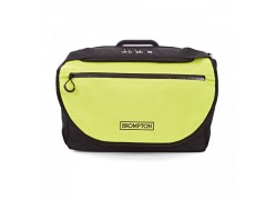 Brompton tas Brompton S Bag w/ Lime Green Flap